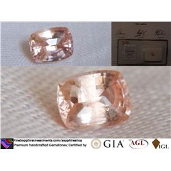 Padparadscha Sapphire, unheated | AGL 1.18 ct