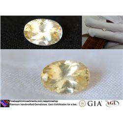 Vivid Metallic Yellow prime handcraft Sapphire 1.81 ct