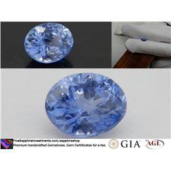 Vivid Cornflower Blue premium handcut Sapphire 1.57 ct