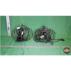 Lights (Pair) Electrical Flat Round : From Toys & Treasures, Wainwright, AB