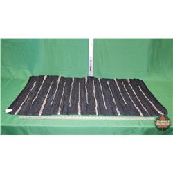 Leather Strip Rug (60 x 120cm) : From Toys & Treasures, Wainwright, AB