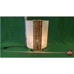 Bamboo Lamp : From Toys & Treasures, Wainwright, AB