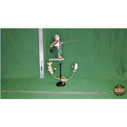 Fly Fisherman Sky Hook : From Toys & Treasures, Wainwright, AB