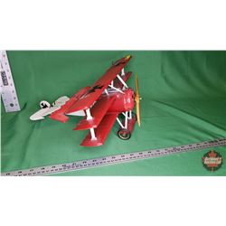 Décor - Red Plane : From Toys & Treasures, Wainwright, AB