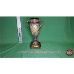 """Décor Piece - Vase - Mosaic - Black/Gold (15""""H) : From Toys & Treasures, Wainwright, AB"""