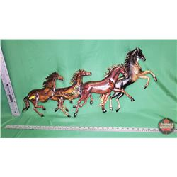 Wall Décor - Running Horses Metal Art : From Toys & Treasures, Wainwright, AB