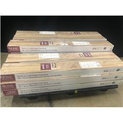 HOME DECORATORS 12MM  6.26 INCH WIDE LAMINATE FLOORING
