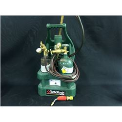 TURBOTORCH PORTABLE OXYACETYLENE SET WITH HOSES AND BOTTLES