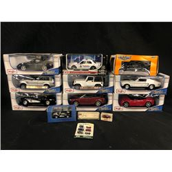 LOT OF ASSORTED CAR MODELS INC. MAISTO, JADA AND MORE