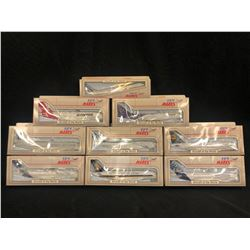 ASSORTED SCALE MODEL PLANES, 9 MODELS TOTAL