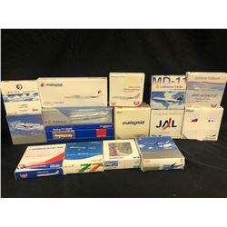 ASSORTED SCALE MODEL PLANES, 15 MODELS TOTAL