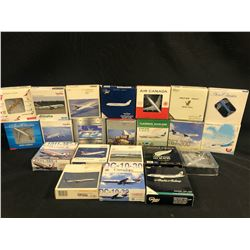 ASSORTED SCALE MODEL PLANES, 22 MODELS TOTAL