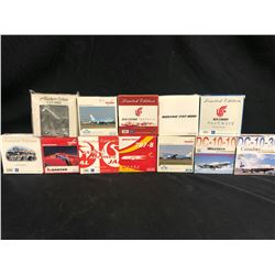 ASSORTED SCALE MODEL PLANES, 12 MODELS TOTAL