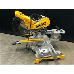 DEWALT DW717 DOUBLE BEVEL SLIDING COMPOUND MITER SAW