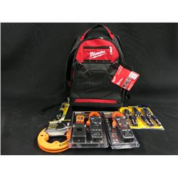 TOOLS INC. KLEIN MEASURING TOOLS, HAND TOOLS, MILWAUKEE BACKPACK AND MORE