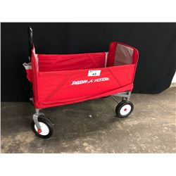 RED RADIO FLYER FOLDING CART