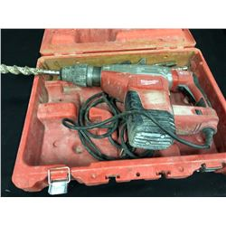 """MILWAUKEE 1 3/4"""" SDSMAX COMBI HAMMER WITH CASE AND ASSORTED BITS"""