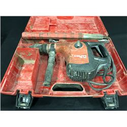 HILTI TE 50 WITH CASE AND ASSORTED BITS