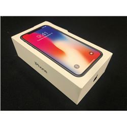 IPHONE X, SPACE GRAY, 64 GB, BRAND NEW IN BOX, OPENED TO VERIFY, SERIAL NUMBER FK2X65VFJCLH