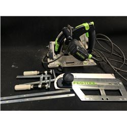 FESTOOL TS 55 REW SAW WITH ACCESSORIES