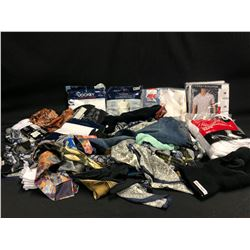 ASSORTED MEN'S AND WOMEN'S CLOTHING AND ACCESSORIES