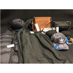 HATS, JACKETS, PURSES AND MORE