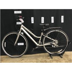 GREY MARIN KENTFIELD TWO 24 SPEED HYBRID CRUISER BIKE, SMALL FRAME SIZE, STANDOVER HEIGHT: 75 CM