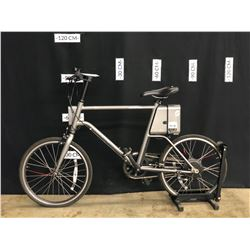 YUNBIKE SURFACE604 CSERIES SINGLE SPEED ELECTRIC ASSIST BIKE, NO CHARGER, NO KEY, CONDITION