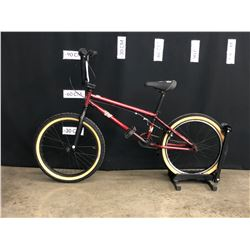 "RED GT BMX BIKE, 19.5"" FRAME SIZE"