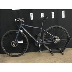 BLUE KONA DEWEY 24 SPEED HYBRID TRAIL BIKE WITH FRONT AND REAR DISC BRAKES, STANDOVER HEIGHT: 75 CM