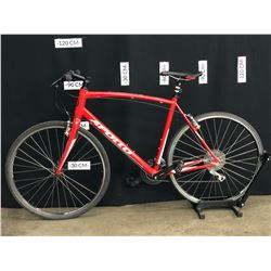 RED APOLLO EXCEED 20 24 SPEED ROAD BIKE, XL FRAME SIZE, STANDOVER HEIGHT: 85 CM