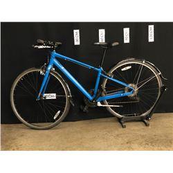 BLUE MARIN FAIRFAX 27 SPEED HYBRID TRAIL BIKE, MEDIUM FRAME SIZE, STANDOVER HEIGHT: 72 CM