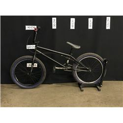 BLACK NORCO BMX BIKE, REAR BRAKE ONLY, BRAKE WORKING BUT NEEDS ADJUSTMENT