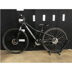 BLACK NORCO XFR 3 27 SPEED FRONT SUSPENSION HYBRID TRAIL BIKE WITH FRONT AND REAR HYDRAULIC DISC