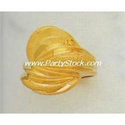 HEAVY! 14K SOLID YELLOW RETRO GOLD RING 11.7 G