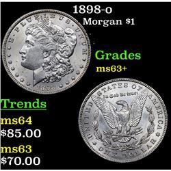 1898-o Morgan Dollar $1 Grades Select+ Unc