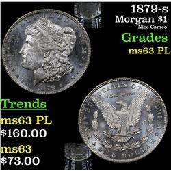 1879-s Morgan Dollar $1 Grades Select Unc PL