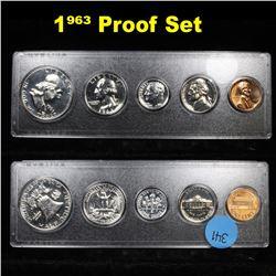 1963 United States Proof Set in Whitman Plastic Holder