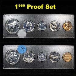 1960 United States Proof Set in Whitman Plastic Holder