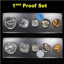 1959 United States Proof Set in Whitman Plastic Holder