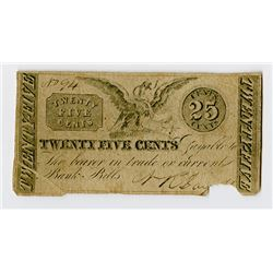 Morristown, NJ, Day & Co., ca.1830's Unlisted Obsolete Scrip Note.