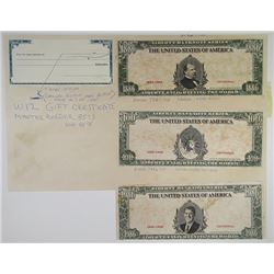 Jeffries Bank Note Company 1970-80's Proof Vignette Sheet
