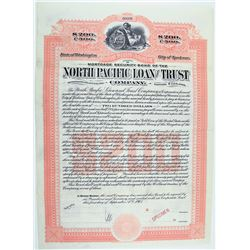 North Pacific Loan & Trust Co. 1905 Specimen.