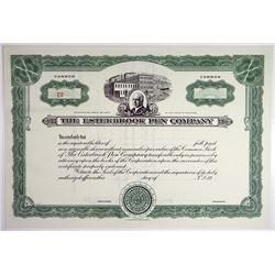 Esterbrook Pen Co., 1967 Specimen Stock Certificate.