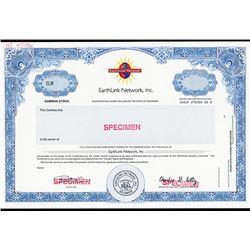 EarthLink Network, Inc. Specimen  Certificate.