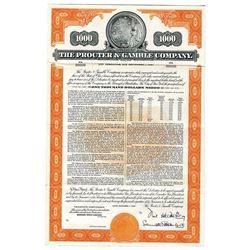Procter & Gamble Co., 1956 Specimen Bond