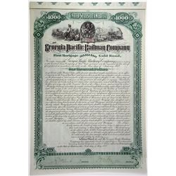 Georgia Pacific Railway Co. 1882 Bond