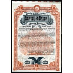 Kentucky Union Railway Co. 1888 I/U bond.