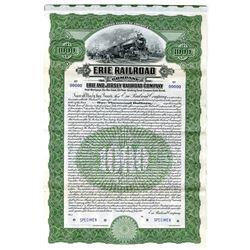 Erie Railroad Co., 1905 Specimen Bond