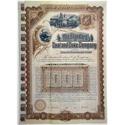 Standard Coal & Coke Co. 1887 Specimen Bond
